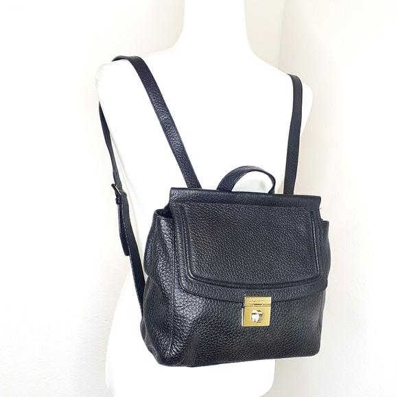 Kate Spade Backpack Purse Black Leather Bag